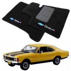 Tapete Automotivo Chevrolet Opala em Carpet Linha Luxo