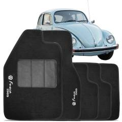 Tapete Automotivo Fusca carpete base pinada