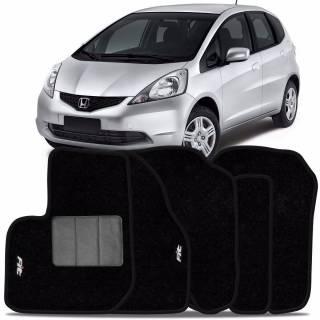 Tapete Automotivo Honda Fit - carpete base pinada | Scar Automotive