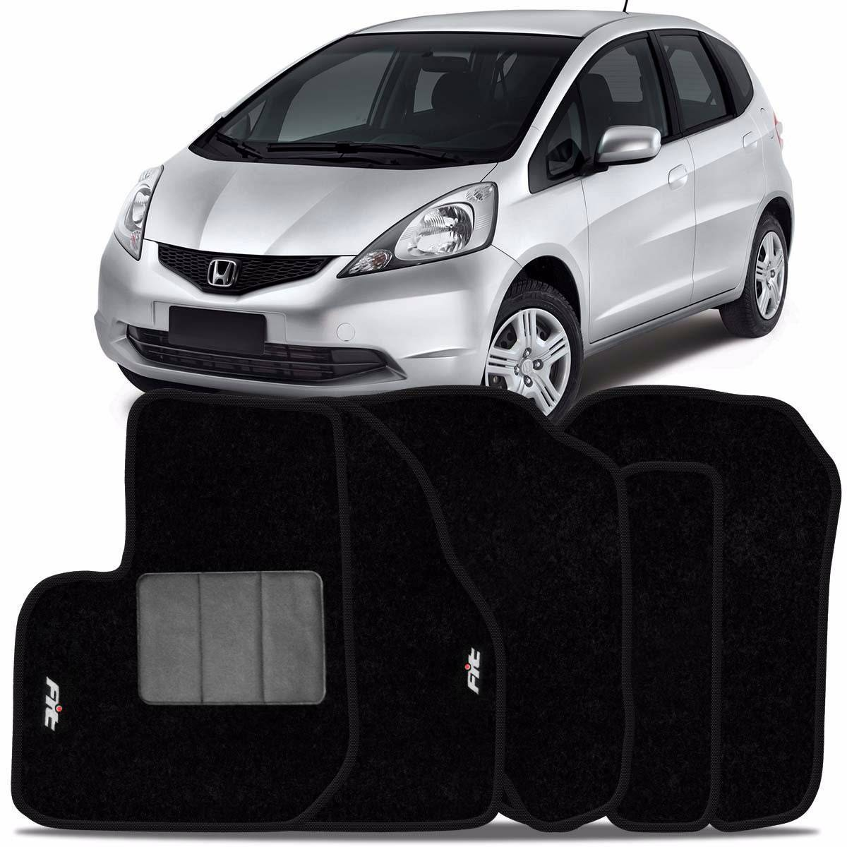 Tapete Automotivo Honda Fit - carpete base pinada