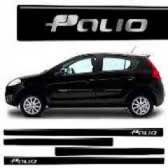 Friso Lateral Fiat Palio 2012 Preto Provocatore Personalizado 4 Peças