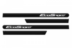 Friso Lateral Ford EcoSport 2012 Preto Ebony Personalizado 4 Peças