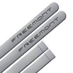 Friso Lateral Fiat Freemont 2014  Prata Argento 4 Peças