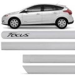 Friso Lateral Ford Focus Prata GeadaPintado 2014