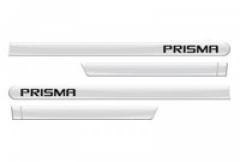Friso Lateral GM Chevrolet Prisma 2013 Branco Summit 4 Peças