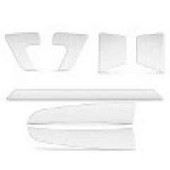 Adesivo Resinado Protetor Para-Choque Hyundai HB20 Transparente 7 Peças