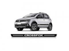 Soleira Resinada Volkswagen Cross Fox 2004/205 4 Peças