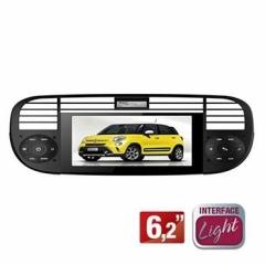 Central Multimídia FIAT 500