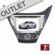 Central Multimídia Hyundai  ELANTRA 2011/2013