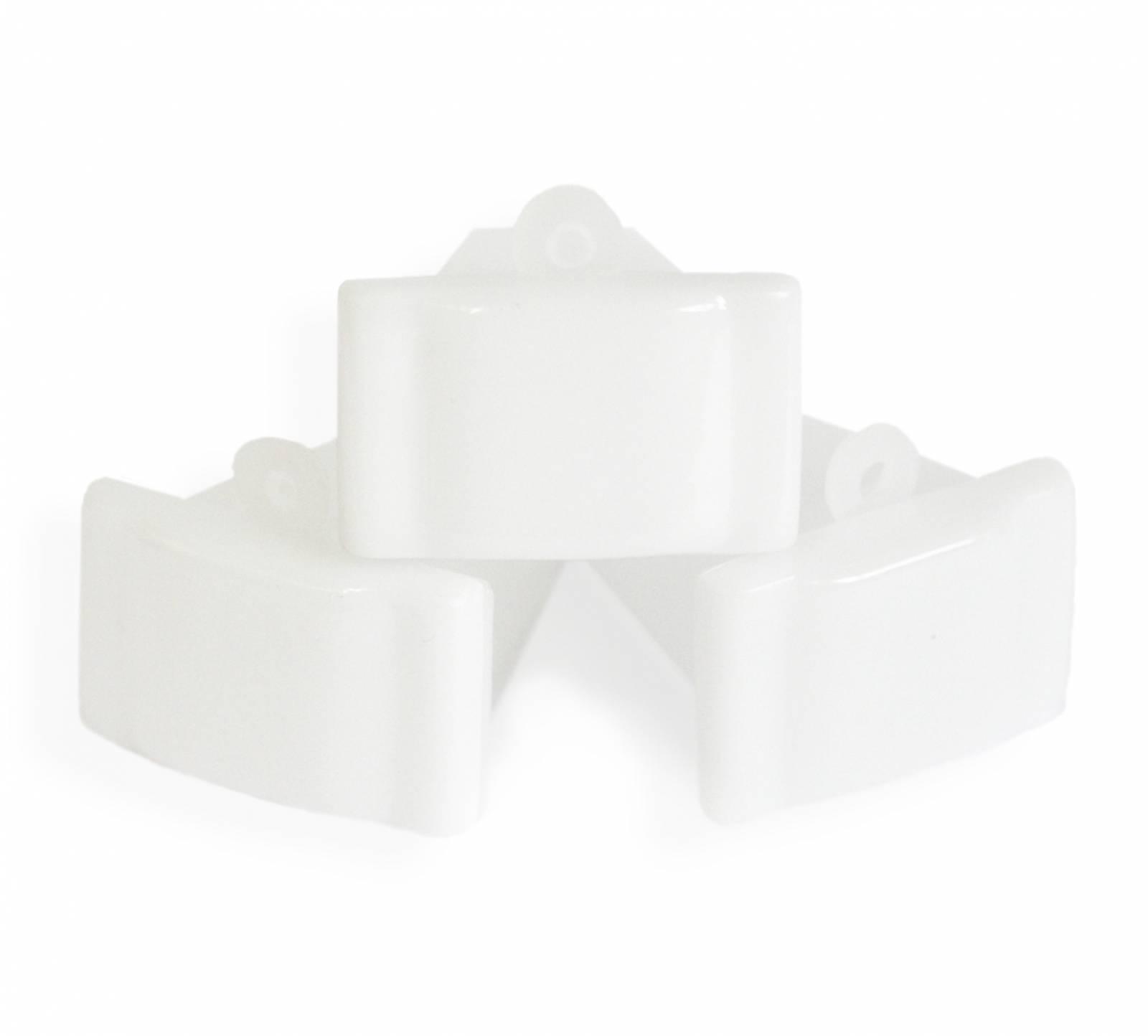 Monóculo Branco | kit c/10 unidades com foto