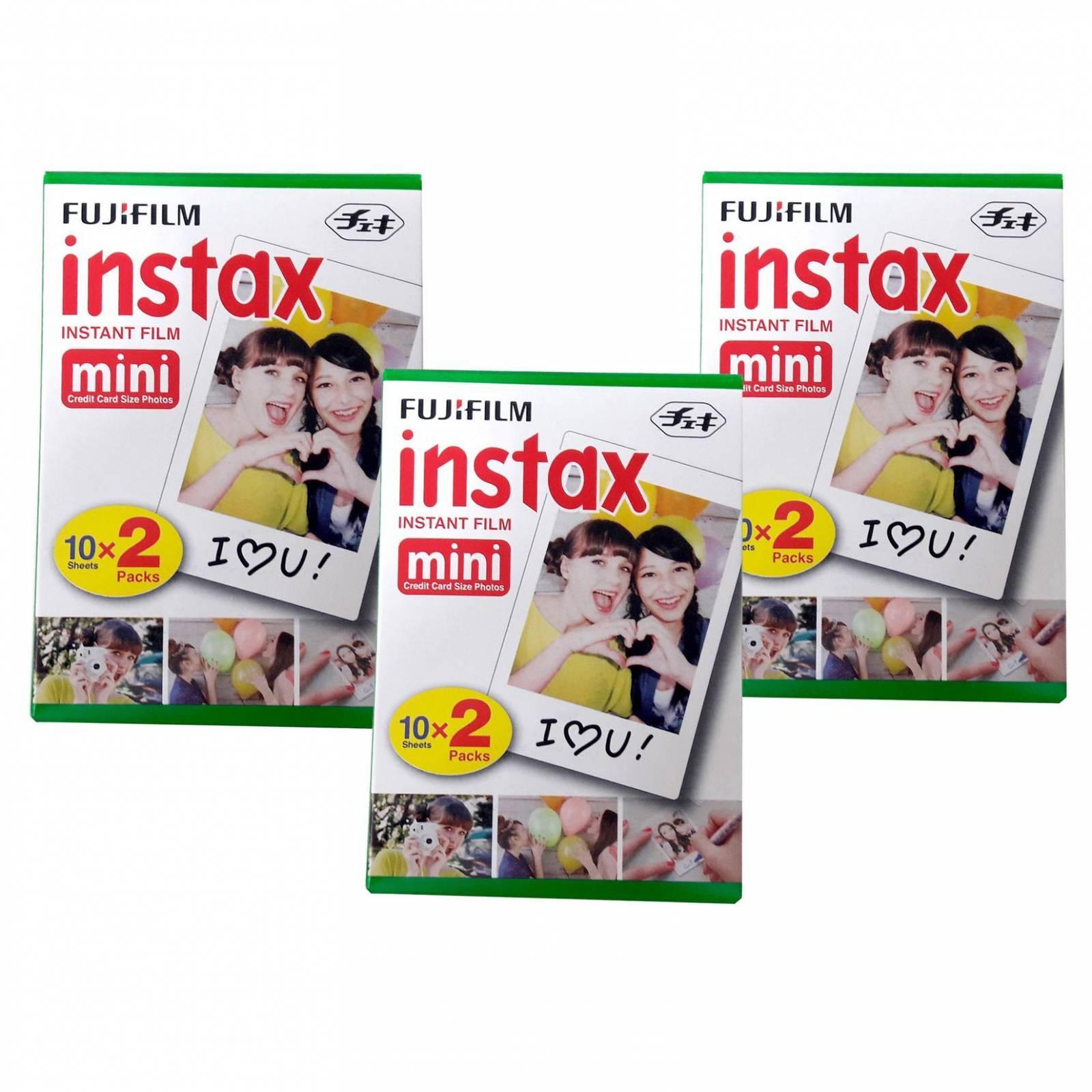 combo_03_Filmes: FujiFilm Instax Mini - R$ 76_CADA