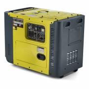 Gerador a Diesel Toyama TDG8000SLE3D  Trif220v 8,1 KVA  C AVR