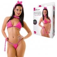 Fantasia Erótica Pantera Cor de Rosa | Intima Sedução - Sex Shop, Produtos Eróticos