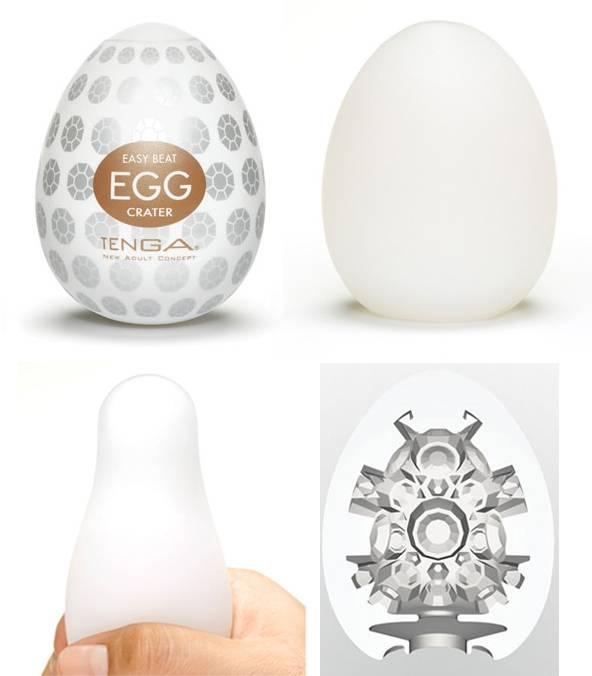 Masturbador Tenga Egg Crater - Masturbador em Silicone