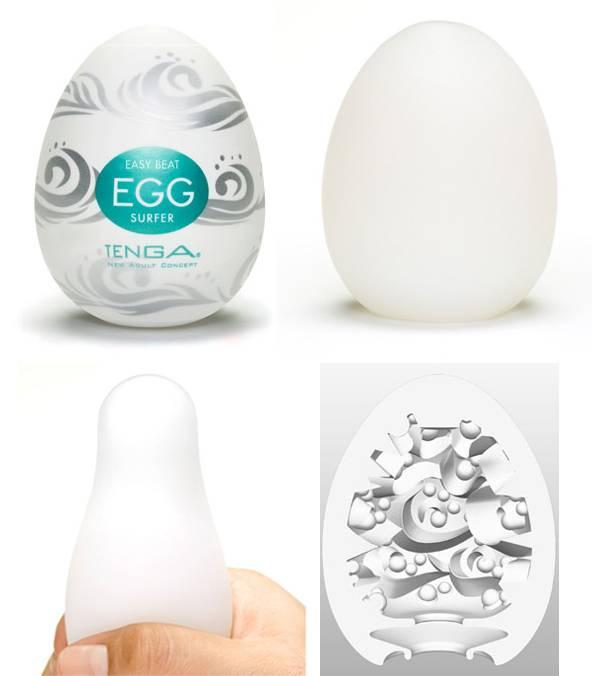 Masturbador Tenga Egg Surfer - Masturbador em Silicone