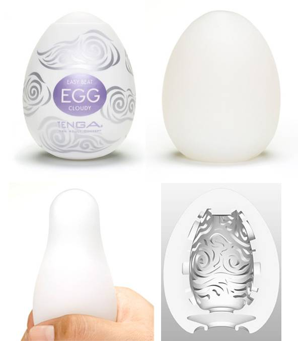 Masturbador Tenga Egg Cloudy - Masturbador em Silicone