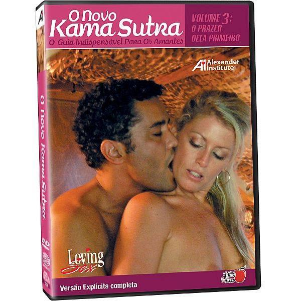 DVD Erótico O Novo Kama Sutra O Guia Indispensável Para Os Amantes - Coleção Amor e Sexo