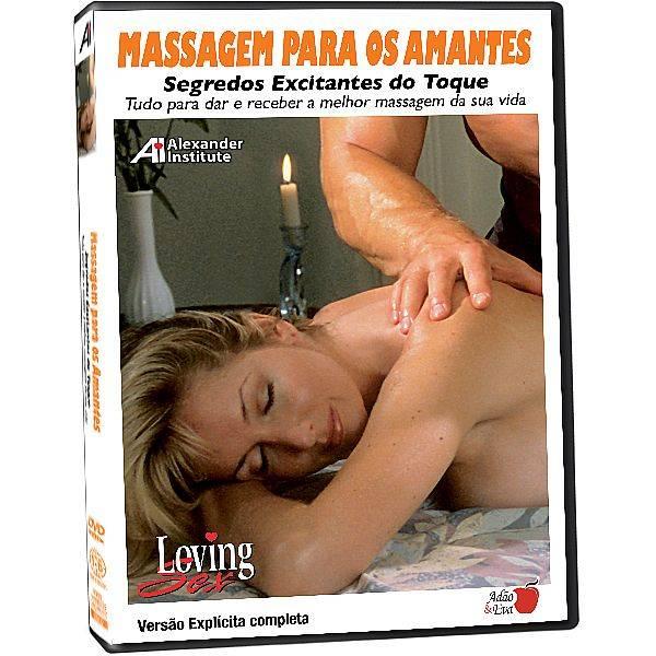 DVD Erótico Massagem para os Amantes Segredos Excitantes do Toque - Coleção Amor e Sexo