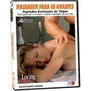 DVD Erótico Massagem para os Amantes Segredos Excitantes do Toque - Coleção Amor e Sexo | Intima Sedução - Sex Shop, Produtos Eróticos