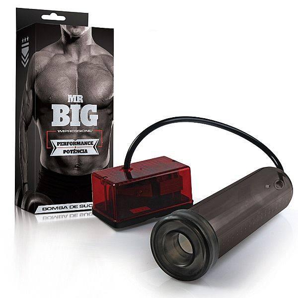 Bomba Peniana Elétrica 110v Mr. Big Alta Pressão Melhor Resultado