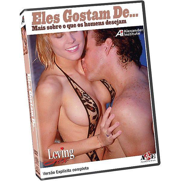 DVD Erótico Eles Gostam De... - Mais Sobre o que os Homens Desejam Coleção Amor e Sexo