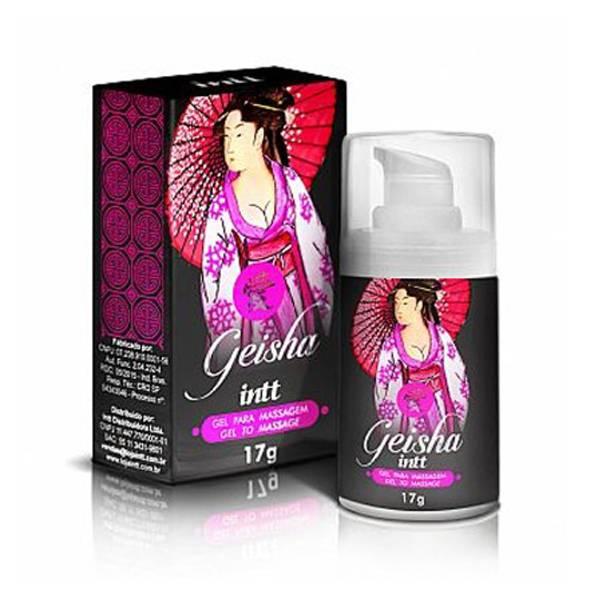 PROMOÇÃO Geisha 17g Excitante Sensação Quente Frio - INTT