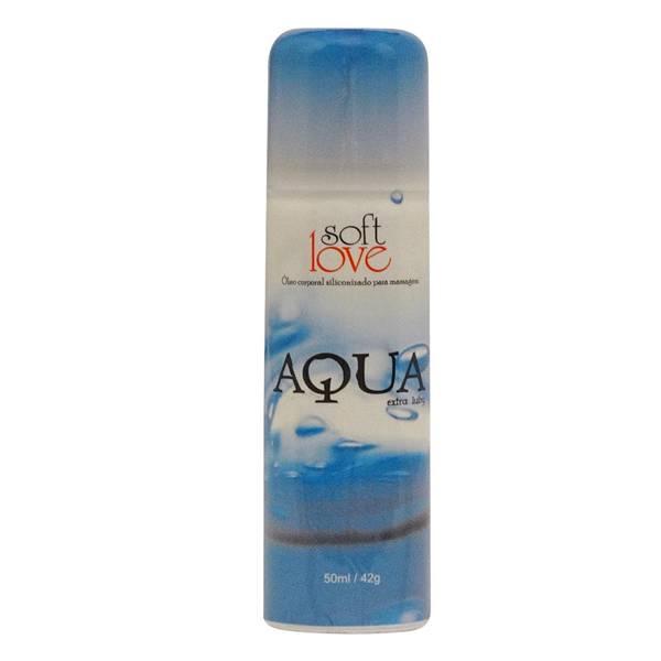 Spray Lubrificante Aqua Siliconizado 50ml - Não sai na água