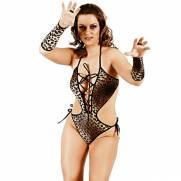 Fantasia Body Onça Selvagem | Intima Sedução - Sex Shop, Produtos Eróticos