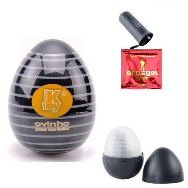 PROMOÇÃO Masturbador Egg Tornado - Masturbador Ovinho