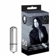 Vibrador Cápsula Prata - 50 Formas De Prazer | Intima Sedução - Sex Shop, Produtos Eróticos