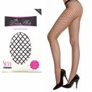 Meia Calça Arrastão com Elástico na Cor Preta | Intima Sedução - Sex Shop, Produtos Eróticos