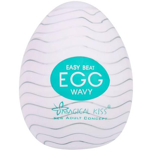 Masturbador Egg Wavy Magical Kiss