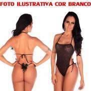 Body Em Renda Pimenta Sexy COR BRANCO | Intima Sedução - Sex Shop, Produtos Eróticos