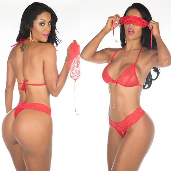 Fantasia Star Mon Amour Pimenta Sexy Vermelho