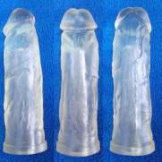 Capa Peniana Em Cyber Skin Cristal 20 x 4,5 cm Kong | Intima Sedução - Sex Shop, Produtos Eróticos