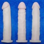 Capa Peniana Em Cyber Skin 20 x 4 cm Garanhão   Intima Sedução - Sex Shop, Produtos Eróticos