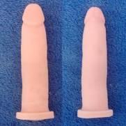 Capa Peniana Em Cyber Skin 17,5 x 4 cm Gemini III | Intima Sedução - Sex Shop, Produtos Eróticos