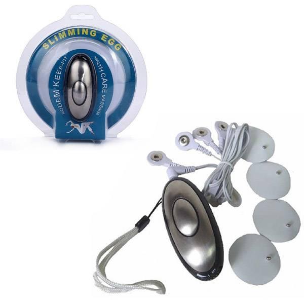 Eletro Choque Kit Com 4 Lâminas Adesivas