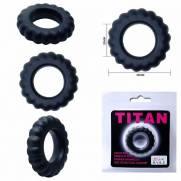 Anel Peniano Titan 4 cm Preto | Intima Sedução - Sex Shop, Produtos Eróticos