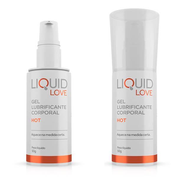Lubrificante Liquid Love HOT 50g