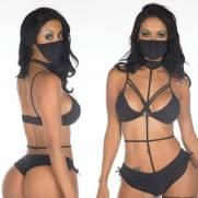 Fantasia Ninja Negra | Intima Sedução - Sex Shop, Produtos Eróticos
