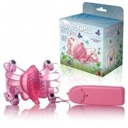 Vibrador Butterfly Estimulador Feminino Rosa Borboleta Mágica | Intima Sedução - Sex Shop, Produtos Eróticos