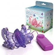 Vibrador Butterfly Estimulador Feminino Lilás Borboleta Mágica | Intima Sedução - Sex Shop, Produtos Eróticos