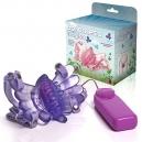 Vibrador Butterfly Estimulador Feminino Lilás Borboleta Mágica