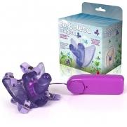 Vibrador Butterfly Feminino Lilás Com Pênis Borboleta Mágica | Intima Sedução - Sex Shop, Produtos Eróticos