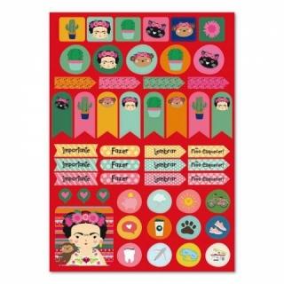Adesivo Papel Colores - 2 cartelas
