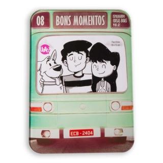 Porta Retrato Ônibus Bons Momentos