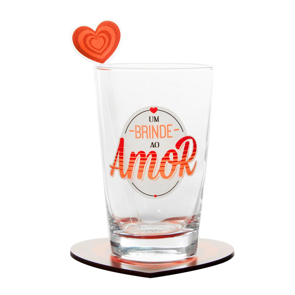 Kit Drink Copo um Brinde ao Amor