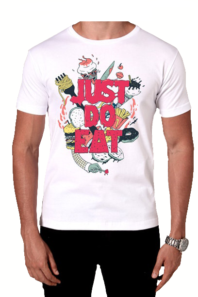 Camiseta Just Do Eat - Masculino