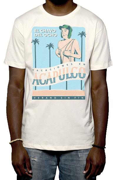 Camiseta Chaves em Acapulco - Masculino